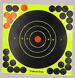 SHI-Y-M-BZ, 10/25/50/100 Fogli Obiettivi Adesivo da 8'Adesivi Target per Caccia e tiro, Soluzione di tiro alla Pistola definitiva Obiettivi - 8 Pollici (Size : 100PCS)