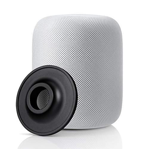 DSstyles Ständer für Apple HomePod Smart Lautsprecher, Edelstahl, Rutschfest, Metallunterlage für Apple Lautsprecherzubehör