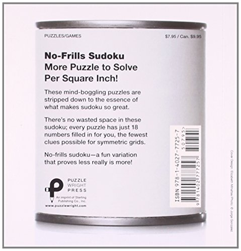 No-Frills Sudoku