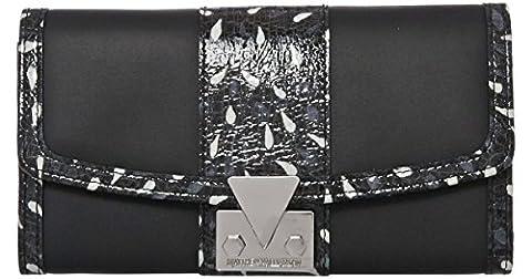 Matthew Williamson Ruby Black Peacock Designer Continental Wallet Purse - RRP £175.00