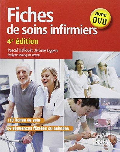 Fiches de soins infirmiers: Avec DVD par Pascal Hallouët