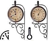 Fallen Fruits TF006 Horloge et thermomètre sur Support sur pied