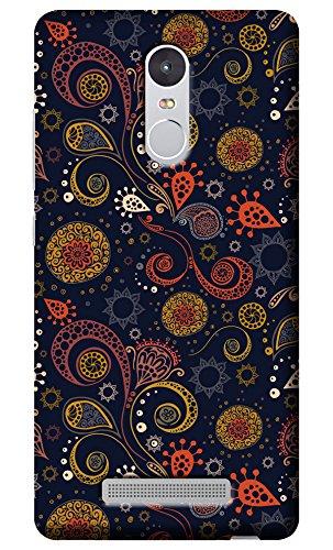 """Fashionury""""Protection Premium"""" Designed Soft Silicon Back Case Cover for Redmi Note 3"""