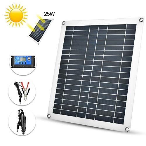 Presupuesto:  condicion: NUEVO  Material: ABS  Potencia máxima (Pmax): 25w  Voltaje máximo de potencia (VMP): 18v  Corriente máxima de potencia (Imp): 1.3A  STC (condiciones de prueba estándar): 1000W / metro cuadrado, AM = 1.5, 25 ° C  Voltaje máxim...