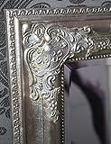 Spiegel Wandspiegel RACHEL antik silber Barock 100 x 50 cm - 3
