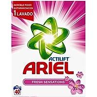 Ariel Sensaciones Detergente en Polvo - 40 Dosis