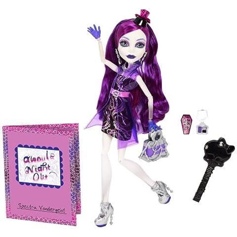 Monster High - Muñeca Spectra Vodergeist (Mattel BBC12)