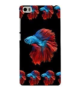 printtech Fish Unique Back Case Cover for Xiaomi Redmi Mi5::Xiaomi Mi 5