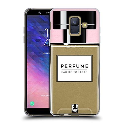 Head Case Designs Parfüm Lebenswichtige Güter Soft Gel Hülle für Samsung Galaxy A6 (2018)