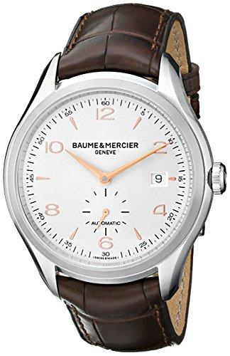 Baume & Mercier Clifton Herren-Armbanduhr 41mm Braun Schweizer Automatik 10054