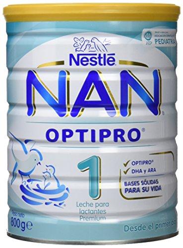 Nestlé - Leche NAN Optipro 1 Nestlé 800 gr 0m+