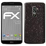 atFolix LG G Flex Skin FX-Glitter-Black-Sky Designfolie Sticker - Reflektierende Glitzerfolie