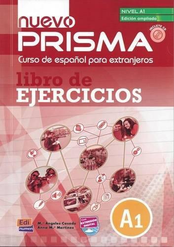 nuevo Prisma A1 - Lib.ejerc.+CD ampliado por Ana María Rúiz Martínez