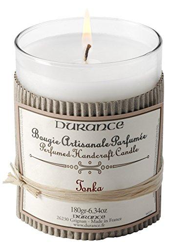 Vela artesanal aromático 180gr Tonka Durance