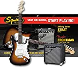 Fender Squier Strat Pack Short Scale - Brown Sunburst