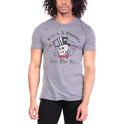 lucky-brand-lifes-a-gamble-camisetas-s-hombres