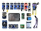 WINGONEER 16pcs/lot Capteur Module Board Kit pour Arduino Framboise Pi 3/2 Modèle B