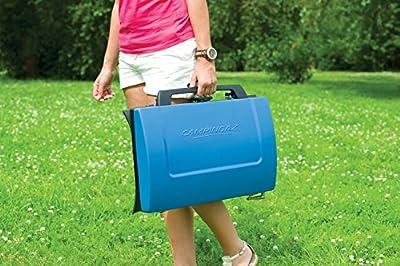 Campingaz Gas-/ Tisch-/ Campingkocher 400SG, 2 flammig, 4.400 Watt, kompakter Outdoor Kocher mit Windschutz, 2 Grillplatten und Tragegriff von CMPZ5|#Campingaz - Outdoor Shop