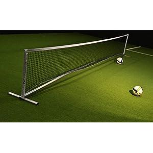 CARRINGTON Fußballtennis Set aus Aluminium 6 x 0,90 m für Innen- und Aussen – Perfekt für das Fußballtraining