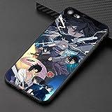 Uchiha Sasuke Ugumaki Naruto Coque Souple en Silicone TPU pour iPhone 6 6S 7 8 Plus X XR XS Max iPhone 7 Plus 8