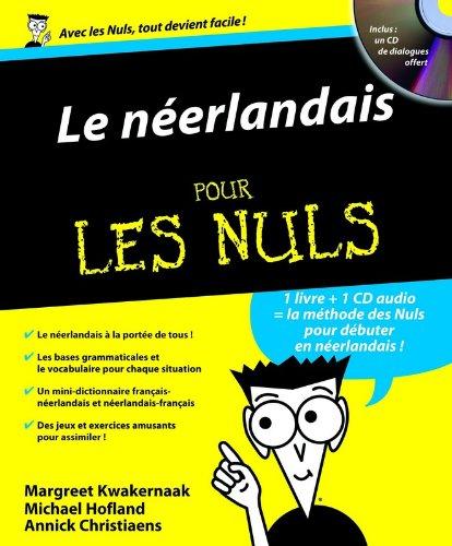Le néerlandais pour les nuls (1CD audio) par Margreet Kwakernaak