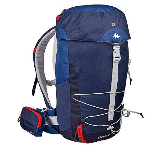 H&K-Sportperformance GbR Rucksack 20 Liter BLAU Wandern, Trekking, Radfahren oder Reisen belüfteter Rücken
