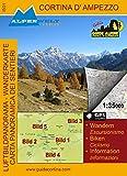 Wanderkarte & Luftbildpanoramakarte Cortina D´ampezzo