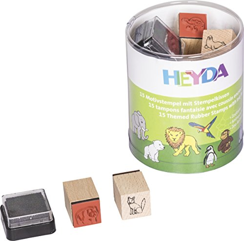 HEYDA Motivstempel-Set