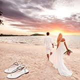 YOOZIRI Beach Wedding Shoes,Wedding Flats-BE-01