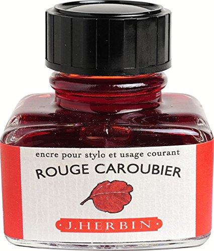 herbin-encre-traditionnelle-a-stylo-en-flacon-d-30ml-rouge-caroubier