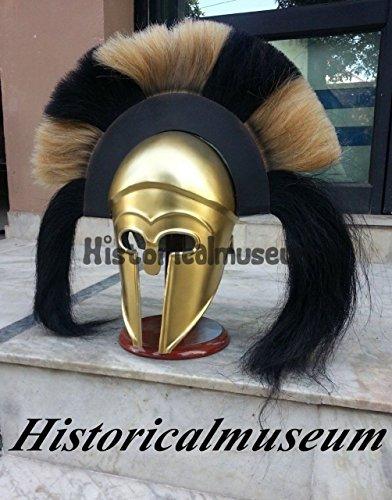 Mittelalter Kostüm Armour Antiker Römischer Griechischer Korinthischer Helm W/lang (Helm Griechischen Kostüme)