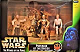 """Purchase of the Droids Set mit Uncle Owen Lars, C-3PO & Luke Skywalker - Star Wars """"Power of the Force"""" Collection von Kenner / Hasbro"""