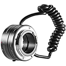 Neewer multifuncional electrónico automático de Macro y reverso de montar en tubo de extensión para Canon EF/ef-s lente
