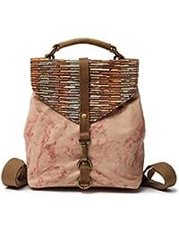 8aea9302b7 Vianber Borsa a tracolla donna letteraria vintage a tracolla vintage da  donna in tessuto stile etnico