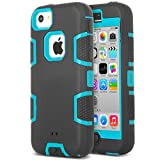 iPhone 5c Case, ULAK 3in1 Combo Hybrid Hard - Best Reviews Guide