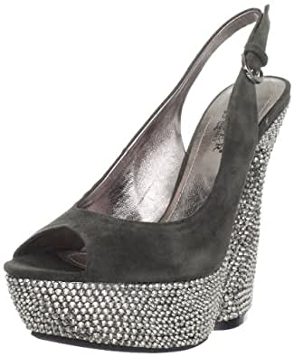 pleaser day night swan 654dm sexy edle designer plateau high heels wildleder sandaletten. Black Bedroom Furniture Sets. Home Design Ideas