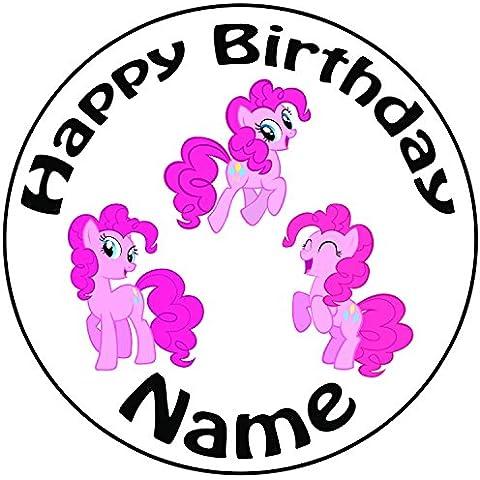 Personalizzato My Little Pony Pinkie Pie–Topper per