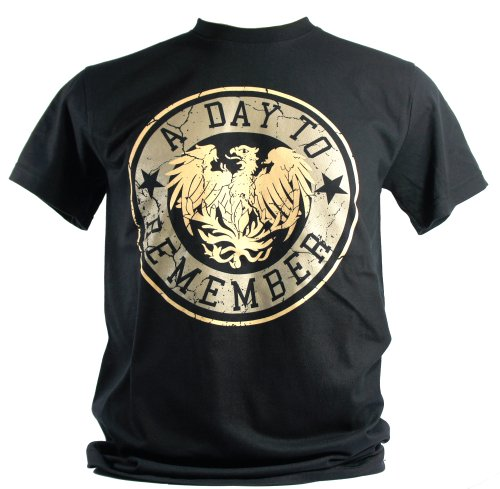 A Day To Remember - Maglietta da uomo nero For Those Who Have Heart Medium Size M