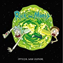 Rick and Morty Official 2018 Calendar - Square Wall Format (Calendar 2018)