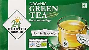 24 Mantra Green Tea, 85g