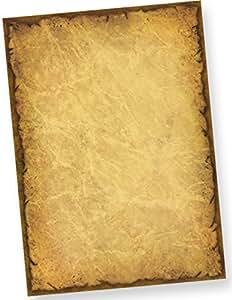 vieux Papier à Lettre CASANOVA (1000 feuilles) A4 imprimé sur les deux côtes - Le papier avec le désir mystérieux