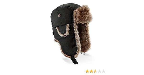 2cc97efa4c43c Beechfield - Chapeau de trappeur - Homme: Amazon.fr: Vêtements et  accessoires