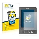 2x BROTECT Matt Displayschutz Schutzfolie für Biblet eBook Reader (matt - entspiegelt, kratzfest, schmutzabweisend)