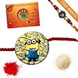 Snapgalaxy Cartoon Multipurpose Rakhi For Kids