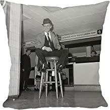 12x12 Cushion of Comedy - Dickie Henderson - London Airport (12293232)