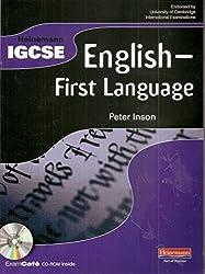Heinemann IGCSE English - First Language Student Book with Exam Cafe CD