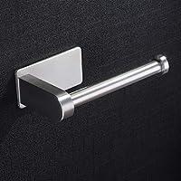 ZUNTO Portarrollos Baño Autoadhesivo Portarrollos Para Papel Higiénico Acero Inoxidable Porta Rollos de Papel Higienico