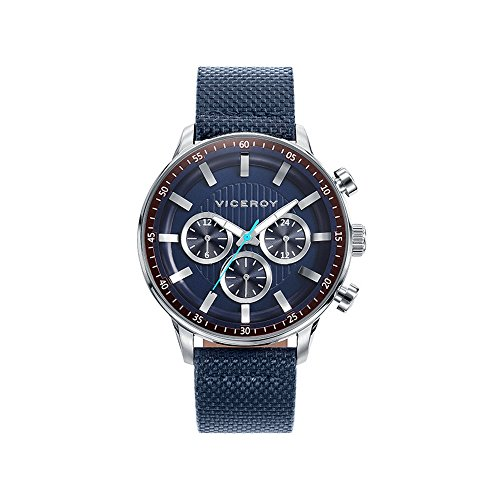 Viceroy Icon 42305-37 Mens multifonction Montre bleue