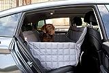 Doctor Bark 104401-200 3-Sitz Autodecke, Große L, circa 135 x 55 x 60 cm, grau