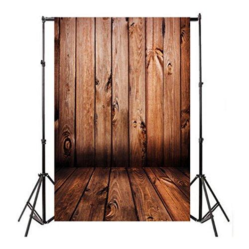 Studio-Hintergrund Fotografie Hintergrund Tuch, Mingfa Vinyl, Holz-Hintergrund, Requisiten, 3x 5ft
